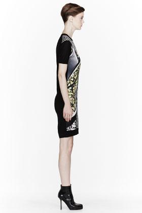 Peter Pilotto Gold multicolor Alice Knit Dress