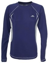 Trespass Womens/Ladies Alanna Active Long Sleeve Baselayer Top (XL) (Wildberry)