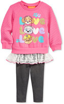 Nannette 2-Pc. Layered-Look Tunic & Leggings Set, Baby Girls (0-24 months)