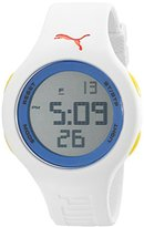 Puma Unisex PU910801033 Loop Digital Display Quartz White Watch