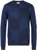 Armani Collezioni intarsia knit jumper