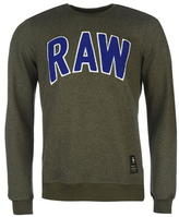 G Star Star Warth Raw Crew Sweater Mens