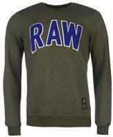 G Star Star Warth Raw Crew Sweater