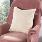 Zazu Knit Cotton Throw Pillow Gracie Oaks