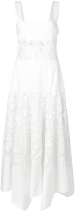 Rosie Assoulin embroidered floral dress