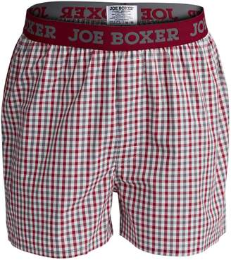 Joe Boxer Poplin Check Boxers