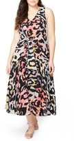 Rachel Roy Plus Size Women's Tie Front Midi Dress