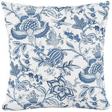 One Kings Lane Praire 20x20 Pillow - Floral Blue