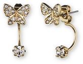 lonna & lilly Butterfly ear jacket earrings set