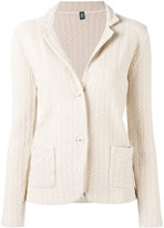 Eleventy textured blazer - women - Cotton/Polyamide - XS