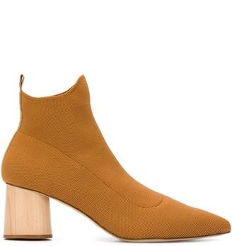 Nanushka wooden heel boots