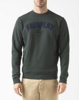Lacoste Green 'Fair Play' Round-Neck Sweatshirt