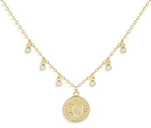 Adina's Jewels Adinas Jewels Coin Pendant Necklace, 15