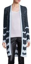 M Missoni Vanise Zigzag Striped Cardigan