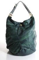 Marc by Marc Jacobs Greeb Leather Hobo Handbag