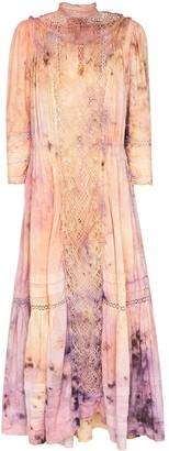Mimi Prober Victoria tie-dye midi dress
