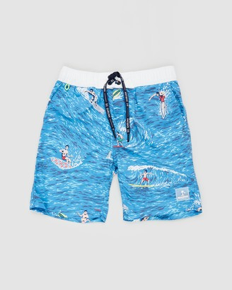 Scotch Shrunk Colourful Boardshorts - Teens
