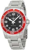 Longines HydroConquest Black Dial Stainless Steel Bracelet Men's Watch