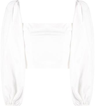 Cara Cara Puff-Sleeved Blouse
