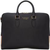 Burberry Black Leather Horton Briefcase