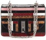 Altuzarra Patchwork Snakeskin Chain Shoulder Bag, Multi
