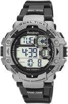 Armitron Mens Gray Strap Watch 40/8309GRYJ