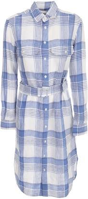 Polo Ralph Lauren Checked Dress L/s Chemisier