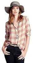 Lucky Brand Women's Bungalow Flannel Shirt