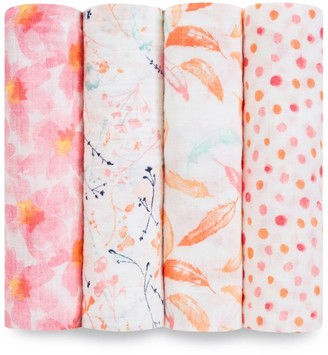 Aden Anais aden + anais Petal Bloom Swaddles (Pack of 4)
