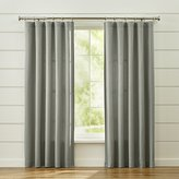 Crate & Barrel Taylor Grey Curtains