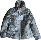 Moncler Print Silver Synthetic Coats