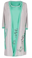 Happy Mama Boutique Happy Mama. Womens Maternity Hospital Gown Robe Nightie Set Labour & Birth. 773p (, US 8, M)