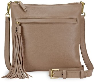 GiGi New York Scout Leather Crossbody Bag