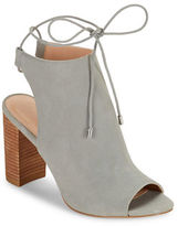 Charles by Charles David Elista Chunky Heel Peep Toe Ankle Boots
