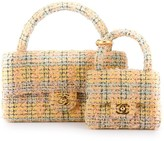 Chanel Pre Owned two-in-one tweed bags