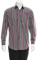 Etro Stripe Button-Up Shirt