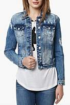 Buffalo David Bitton Distressed Jean Jacket