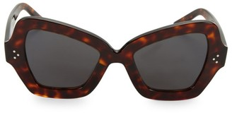 Celine CL40067I 54MM Butterfly Sunglasses
