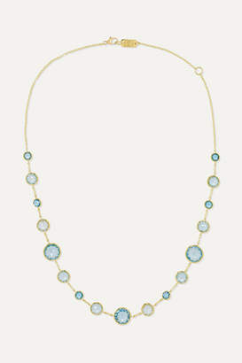 Ippolita Lollipop Lollitini 18-karat Gold Topaz Necklace