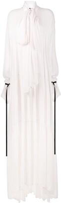 Ann Demeulemeester Ewing Rosy maxi dress