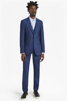 Slim Pin Dot Suit Trousers