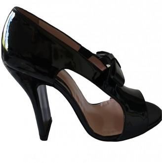 Carven Black Patent leather Sandals