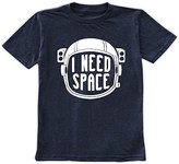 Urban Smalls Navy 'I Need Space' Crewneck Tee - Toddler & Boys