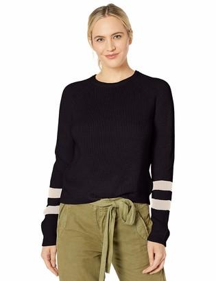 Velvet by Graham & Spencer Women's Chasen Engineered Stitches Sweater