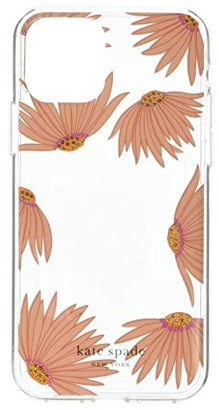Kate Spade Jewel Grand Daisy Photo Frame Phone Case for iPhone(r) 11 Pro (Clear Multi) Cell Phone Case