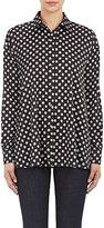 Tomas Maier Women's Nova-Print Blouse-BEIGE, BLACK, NO COLOR