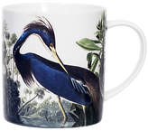 Magpie Heron Small Mug, Blue/White