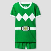 Power Rangers Boys' 2 Piece Pajama Set - Green