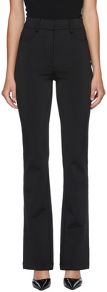 Alexander Wang Black Flared Trousers
