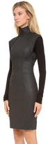 Gareth Pugh Shaped Dress with Knit Sleeves